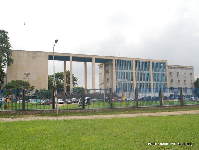 Une vue du palais de justice de Kinshasa, ce 7/12/2009. Radio Okapi / Ph. John Bompengo
