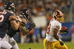 bears vs redskins