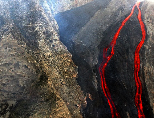 Volcano: deadly but beautiful