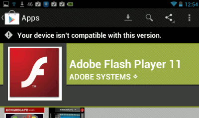 playFlashNotCompatible