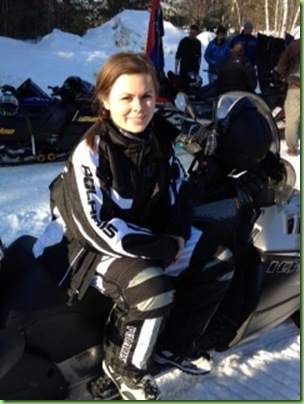 snowmobile ride for dad 2
