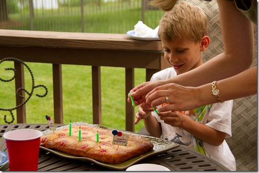 Miles' 6th Brithday Party - Family Edition