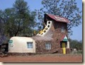 big shoe house