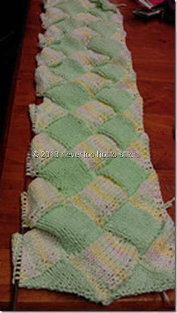 Blanket for Emily 4 tiers