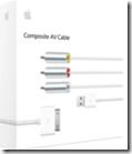 Cavo AV composito Apple