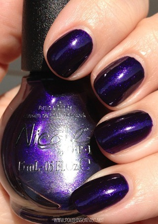 Nicole by OPI Plum to Your Senses 5