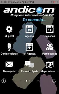 ANDICOM 2014 - screenshot