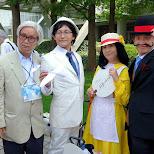 the Miyazaki cosplay crew in Tokyo, Tokyo, Japan
