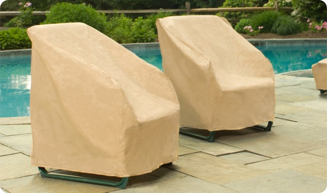 Nutmeg Stack Chairs / Barstool Cover