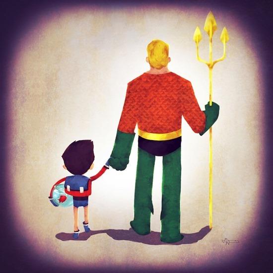 Super heróis em família 05