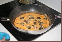 Pasta Con Gambas - Mi mama y su cocina