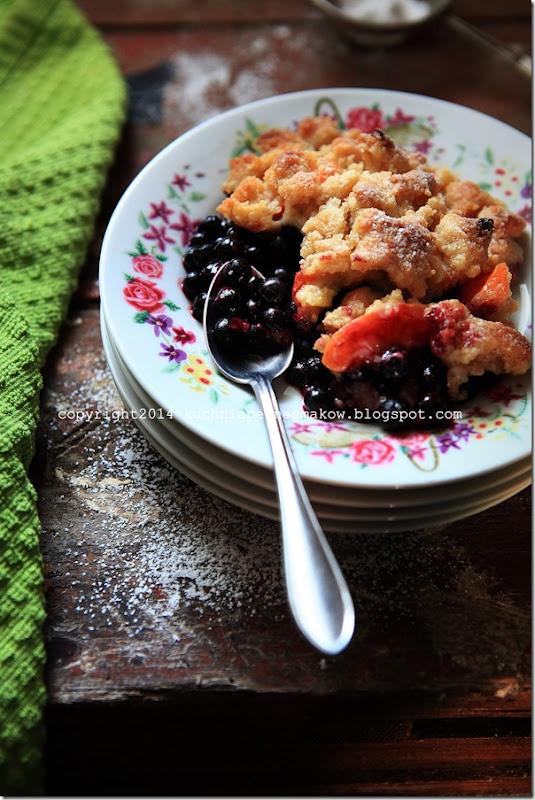 kruszonka z jagodami, jagody i morele z kruszonką (9)