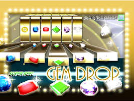 Screenshot of Gem Drop Match 3 Jewel Slots