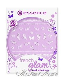 French Glam Nail Stickers - 04 french affairs