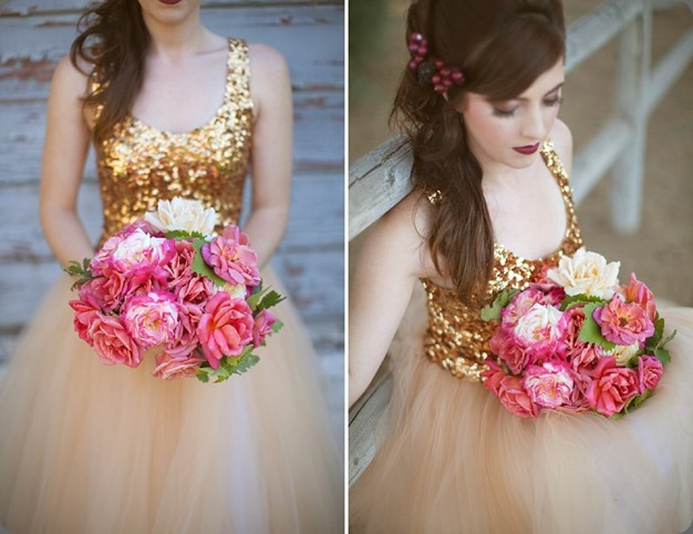 gold 1OakandtheOwl_Garden Tea Rose Bridal Bouquet_thumb[5]