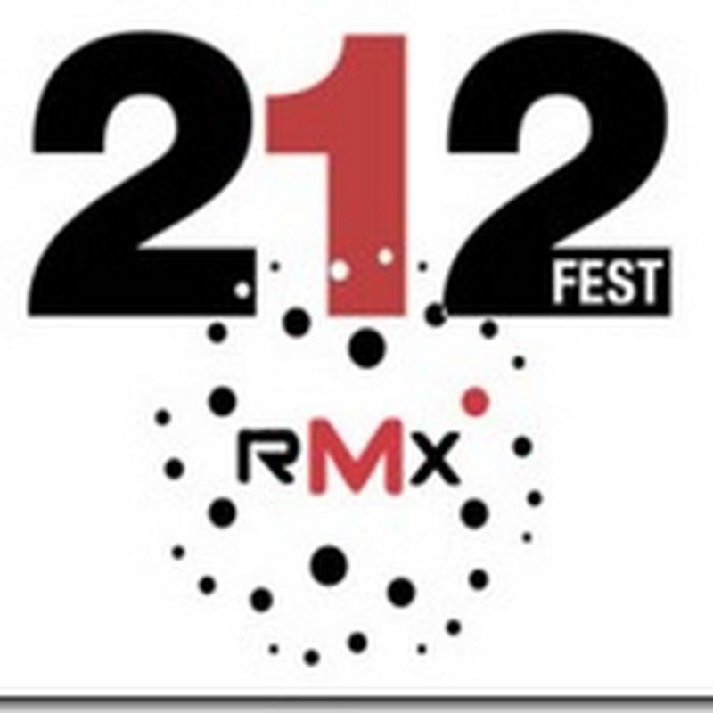 Cartelera Festival 212 RMX 2013 7 de Septiembre