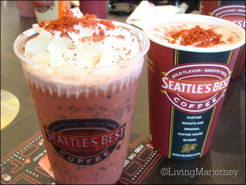 SBC Red Velvet Hot and Ice Blended