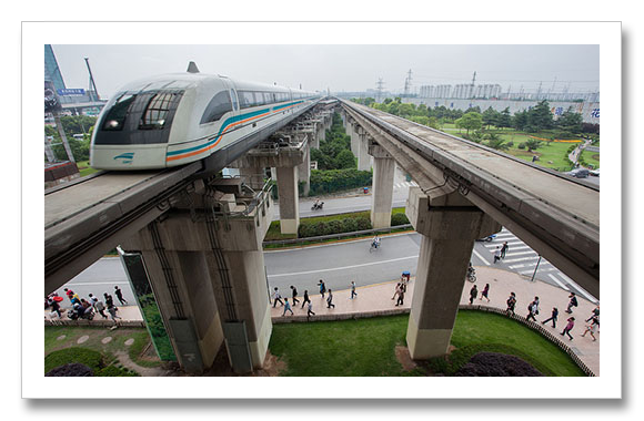 china maglev rain