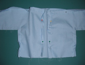 doll scrub shirt step 16