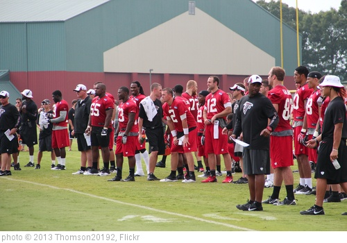 'Matt Ryan watches Falcons practice' photo (c) 2013, Thomson20192 - license: http://creativecommons.org/licenses/by/2.0/