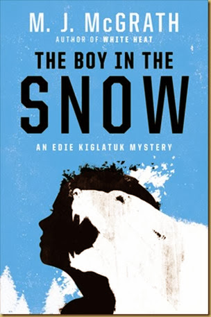 boy in the snow cover