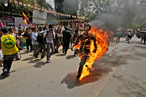 Self immolation India