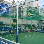 soccer field in shibuya from the tokyo drift movie in Shibuya, Tokyo, Japan