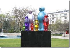 jellybabies at Marble Arch