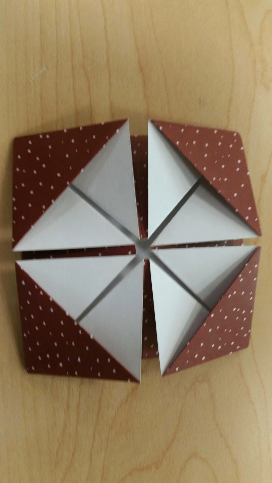 Cutting A Piece Of Paper : Sharon it with you origami fun