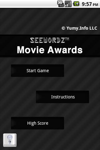 SeeWordz™ Movie Awards Pro