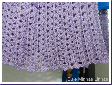 Vestido em Crochê para Meninas 1d