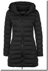 Hetrego Black Down Coat