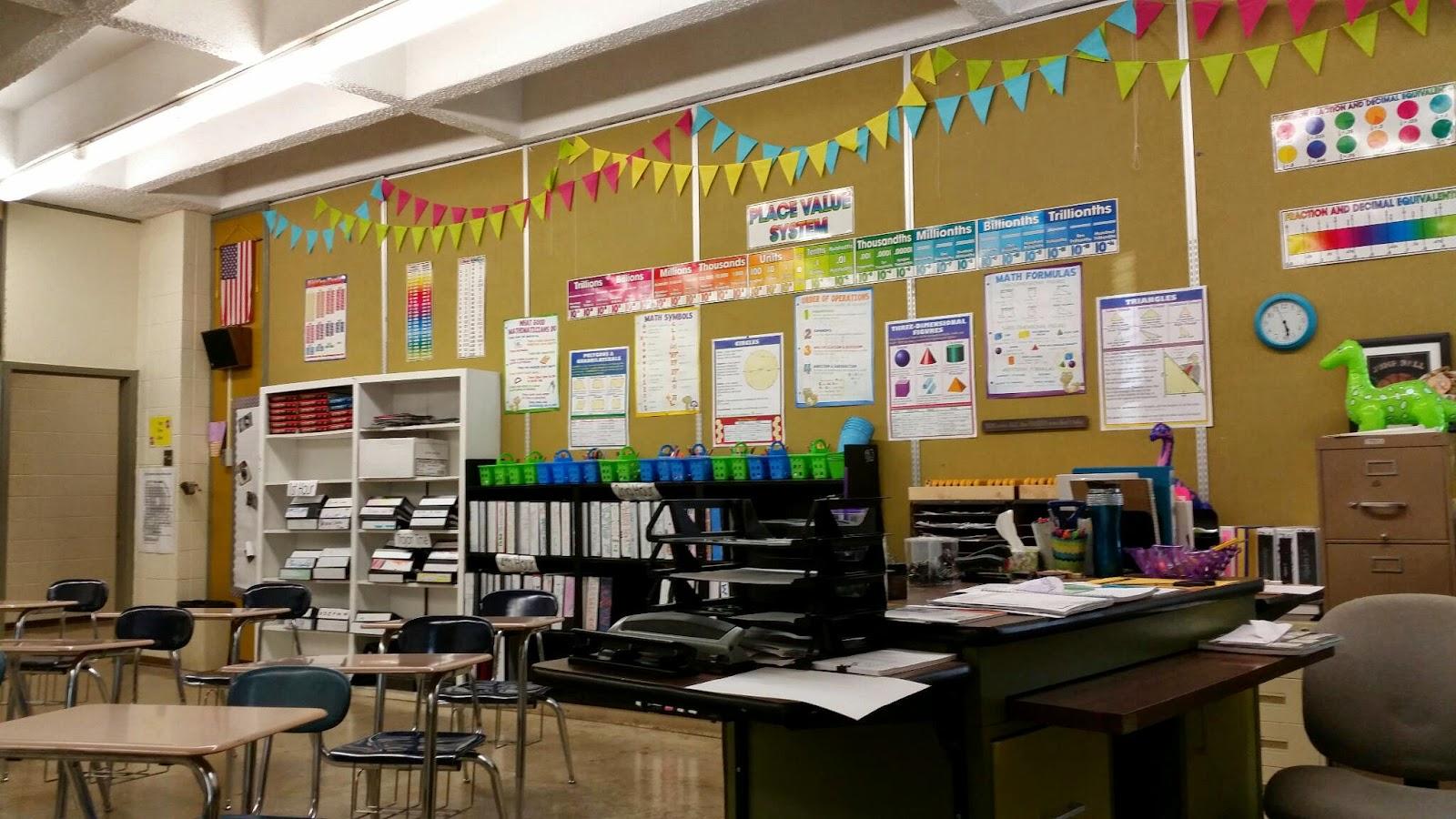 High School Math Classroom Design ~ Tales of a high school math teacher classroom set up