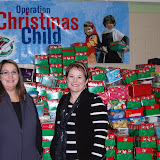 WBFJ - Operation Christmas Child - Shoe Box Drop off - Pinedale Christian Church - WS - 11-19-12