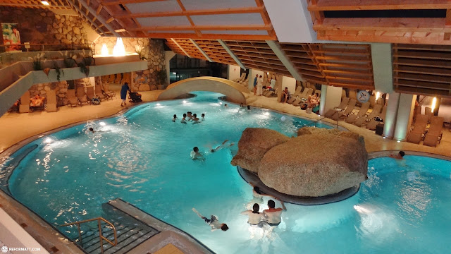 olympia pool in seefeld in Seefeld, Tirol, Austria