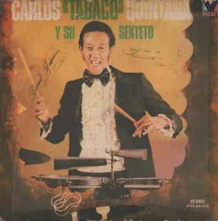 Tabaco Y Su Sexteto  Tabaco Y Su Sexteto  Folder LP Front