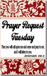 Prayer Tuesday