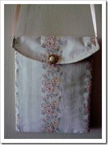 Pretty floral print purse