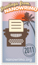 NaNoWriMo Badge 2011