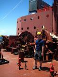 Exploring the ship