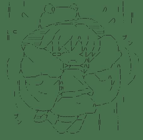 洩矢諏訪子 落下(東方)
