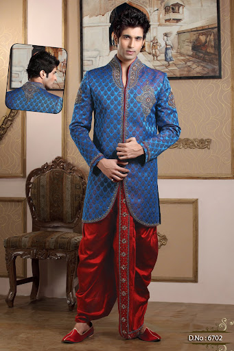 indo-western wedding dresses for men