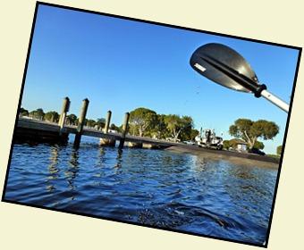 0d - paddling to canal at putin