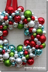 ornament ball wreath 1
