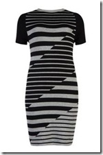 Ted Baker Stripe Intarsia Dress