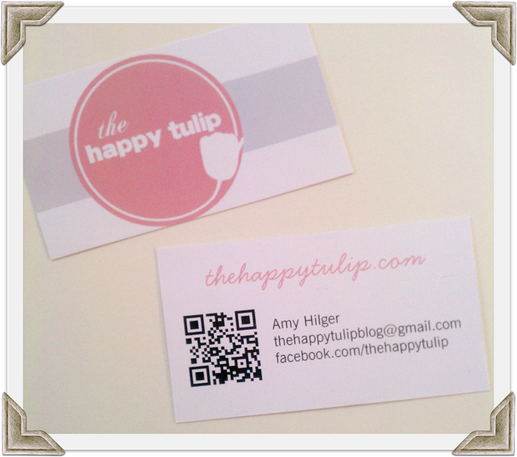 the happy tulip business cards