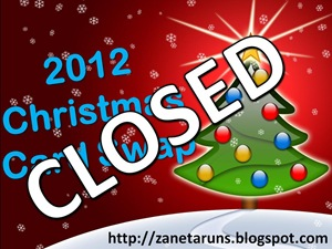 2012 Christmas Card Swap Closed