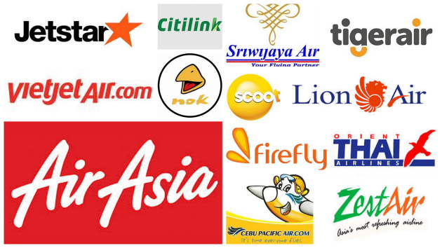 Flying low cost in South East Asia