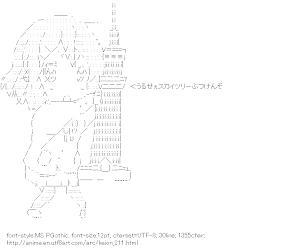 [AA]Hirasawa Yui & TOKYO SKYTREE (Keion!)