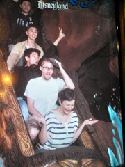 "Splash Mountain - Teresa was gesturing: ""I'm already all wet - Why am I doing this again?"""
